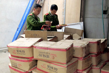 Chè, cà phê Trung Quốc đột kích chợ Đồng Xuân