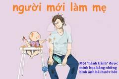 """Nhật ký làm mẹ """"trần trụi"""" và hài hước của một bà mẹ trẻ"""