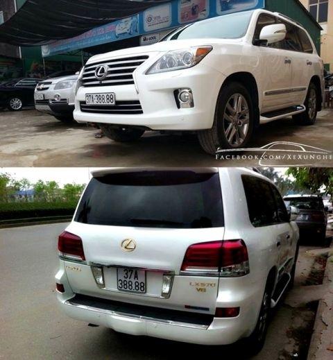 Cận cảnh những siêu xe biển số 'độc' tại Nghệ An