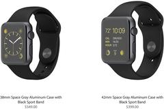 Apple nhận 1 triệu đơn đặt hàng Apple Watch trong ngày đầu