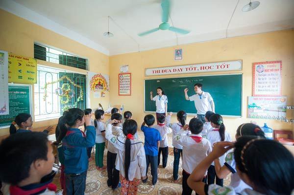 Phát triển trí thông minh đa dạng cho trẻ em vùng cao
