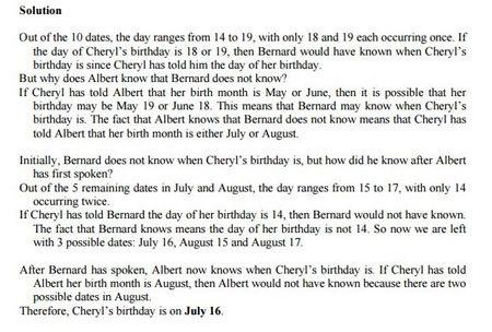 toán học, ngày sinh của Cheryl, cuộc thi, học sinh giỏi, SASMO