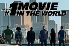 'Fast & Furious 7' cán mốc doanh thu 100 tỉ tại Việt Nam