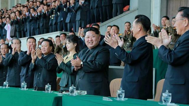 Kim Jong Un, Ri Sol Ju, đệ nhất phu nhân