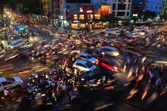 Giao thông hỗn loạn ở Việt Nam đoạt giải thưởng ảnh quốc tế