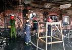 Hỏa hoạn thiêu rụi dãy nhà hàng ở đất Cảng