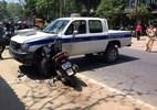 Trộm xe SH rồi bỏ chạy, lao vào ôtô CSGT tử vong