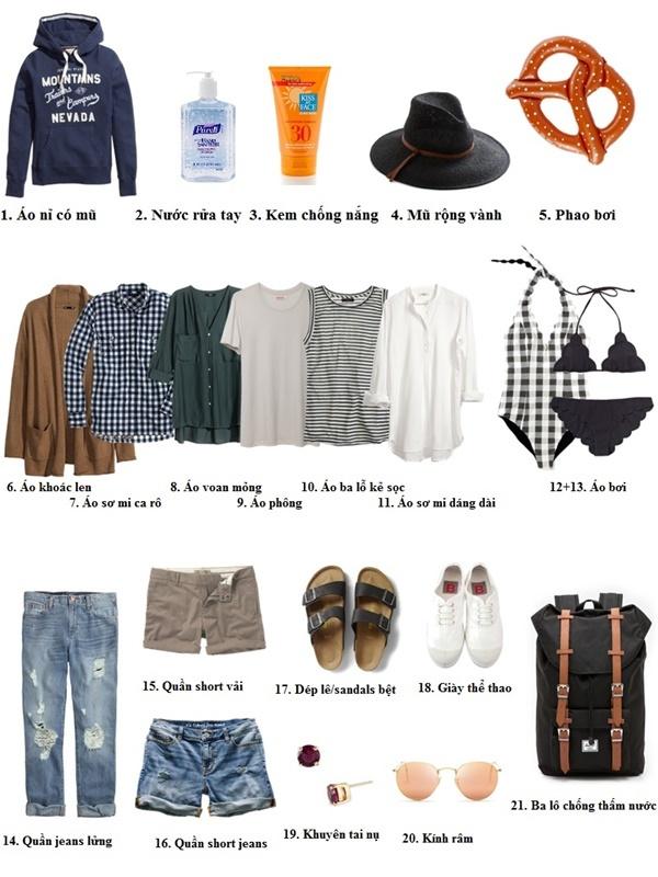 Nghỉ lễ 30/4-1/5: Nên mặc gì khi xuống biển, lên rừng?