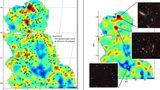Lần đầu tiên công bố bản đồ về vật chất tối