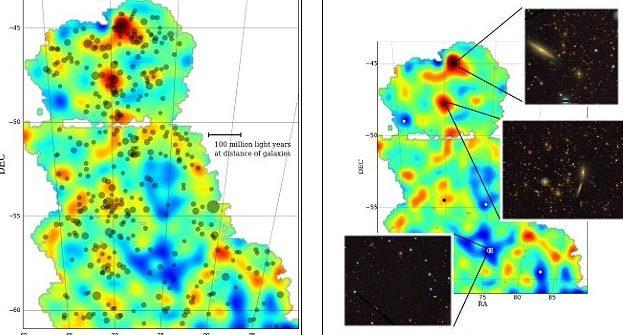 Lần đầu tiên công bố bản đồ về vật chất tối - 1