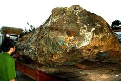Lạ: Tịch thu đá, phạt người khai thác hơn 1 tỷ?