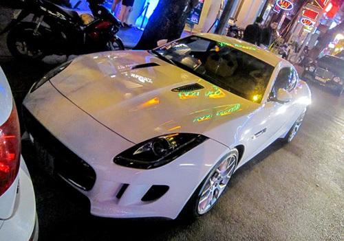 Jaguar F Type S biển Vũng Tàu xuất hiện ở Sài Gòn