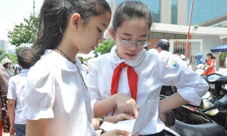 Hà Nội, họp báo, tuyển sinh, chốt, phương án, lớp 6