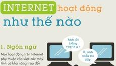 [Infographic] Internet hoạt động như thế nào?