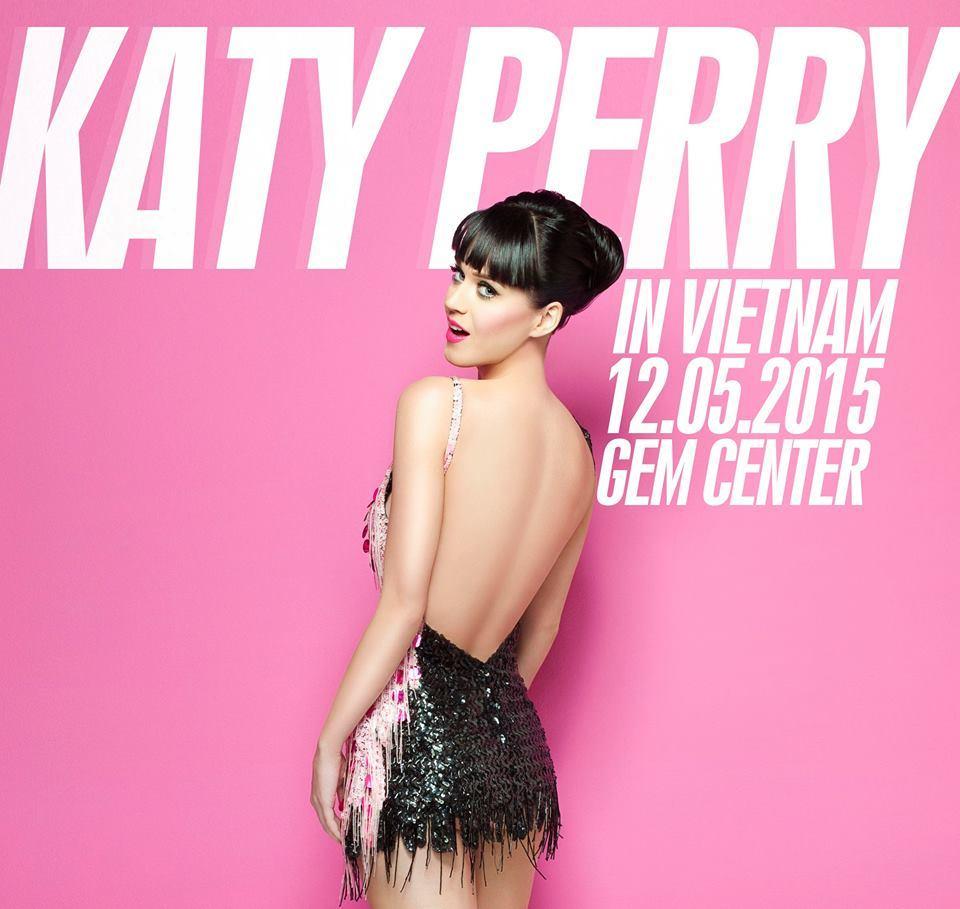 Ca sĩ Katy Perry đến Việt Nam ngày 12/5