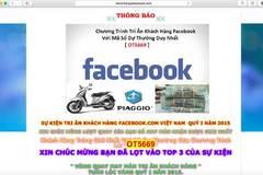 Lừa đảo trên Facebook: Bắt không xuể
