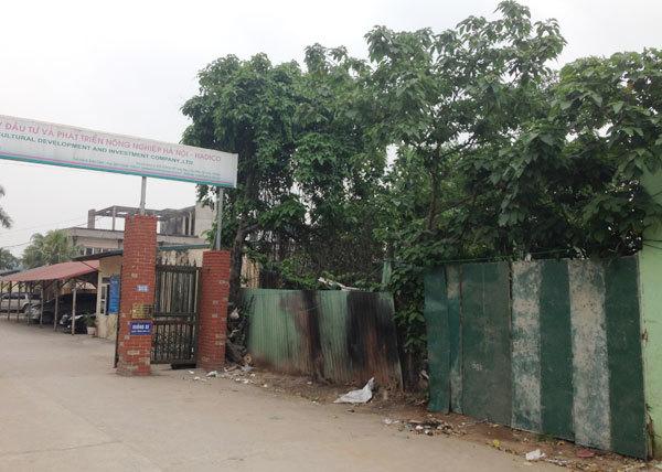 Phó GĐ Sở bị bắt: Dự án đất vàng Hồ Tùng Mậu đổ bể