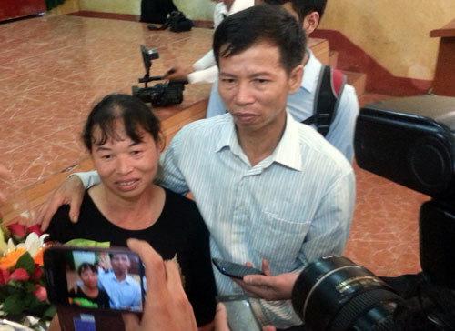 án oan; Nguyễn Thanh Chấn; Tòa án tối cao; Bắc Giang