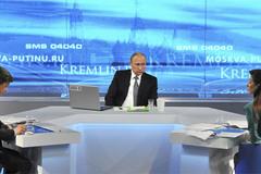 Putin giao lưu với dân: Sữa, tên lửa và kinh tế vĩ mô