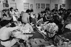 Những đứa trẻ tị nạn trong ngày cuối cuộc chiến