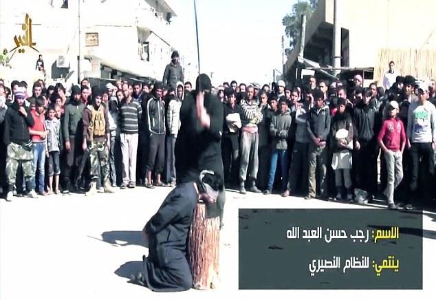 IS chặt đầu 6 lính Syria trước mặt trẻ em