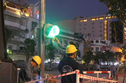 Phố đi bộ Sài Gòn lắp đèn tín hiệu giao thông có âm thanh - 3