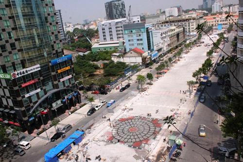 Phố đi bộ Sài Gòn lắp đèn tín hiệu giao thông có âm thanh - 5