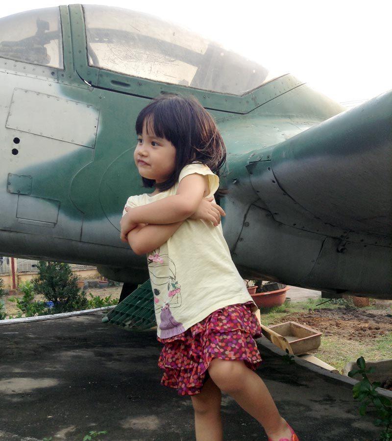 Đòn biểu diễn trên đầu Bộ tư lệnh Không quân Sài Gòn