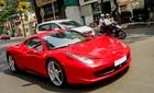 Siêu xe Ferrari 15 tỷ của thiếu gia Sài thành xuống phố