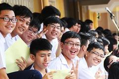 Học sinh thi thử THPT quốc gia trong 4 ngày