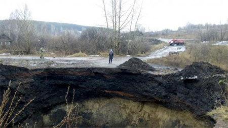 Hố 'tử thần' bí ẩn xuất hiện ở Nga