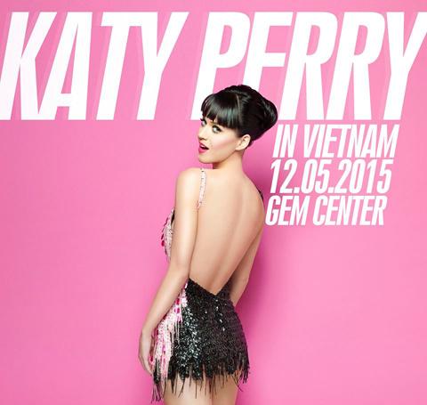 Katy Perry đến Việt Nam không phải để hát