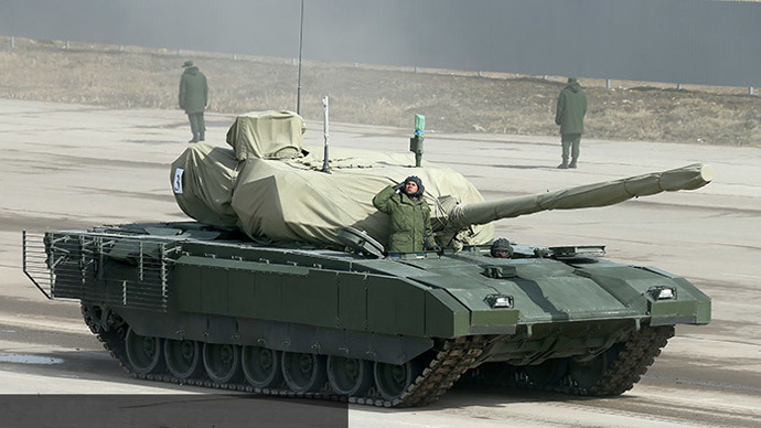 Lộ diện loạt xe tăng bí mật của Nga