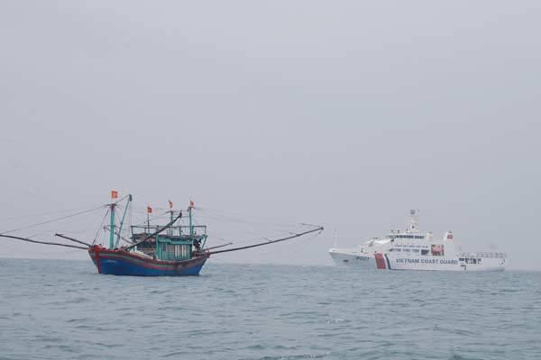 cảnh sát biển, Trung Quốc, vịnh Bắc Bộ