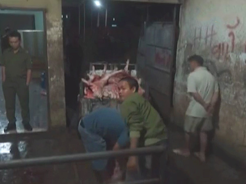 Người Sài Gòn hoang mang vì thịt heo tiêm thuốc an thần