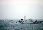 Tàu Cảnh sát biển lớn nhất tuần tra chung với TQ