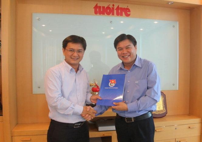 Ông Tăng Hữu Phong làm tổng biên tập Tuổi Trẻ