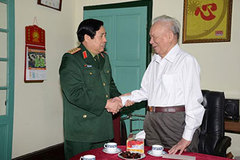 Đại tướng Phùng Quang Thanh tri ân các nguyên lãnh đạo Bộ Quốc phòng