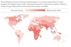 Những con số nói về ngôn ngữ trên thế giới