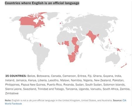 Những con số nói về ngôn ngữ trên thế giới - 5