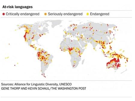 Những con số nói về ngôn ngữ trên thế giới - 6