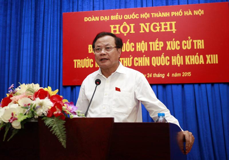Hà Nội, Phạm Quang Nghị, ĐBQH, đảng viên, hối lộ