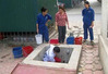 Cấp nước sạch trở lại cho 2 tòa nhà Khu đô thị Dịch Vọng