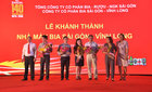 Bia Sài Gòn khánh thành nhà máy 'triệu đô'