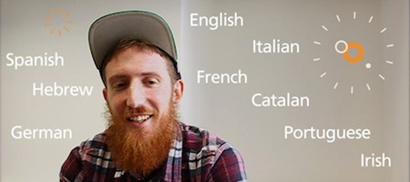 Matthew Youlden, bí quyết, ngoại ngữ. học tập