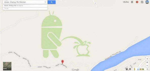 "Google xin lỗi vì logo ""tè bậy lên Apple"" trên Google Maps"