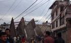 Động đất 7,5 độ richter tấn công Nepal