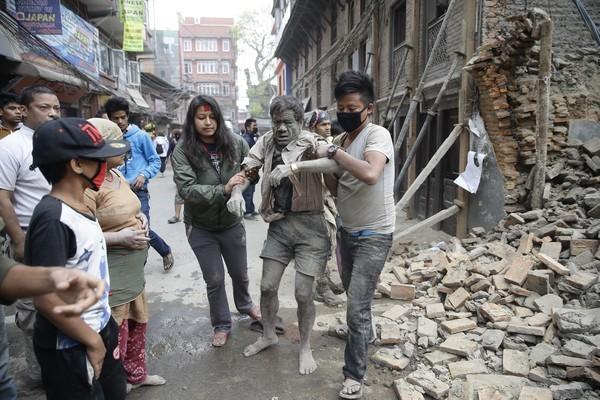 thảm hoạ, động đất kinh hoàng, Nepal