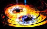 """Tâm điểm KH: Hé lộ điều xảy ra khi 2 lỗ đen """"khủng"""" lao vào nhau"""