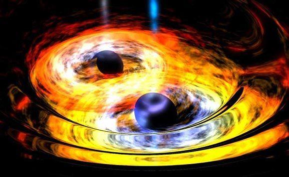 Tâm điểm KH: Hé lộ điều xảy ra khi 2 lỗ đen 'khủng' lao vào nhau